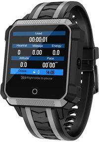Szary zegarek Garett Electronics smartwatch, sportowy