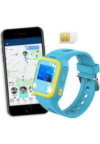 Smartwatch CALMEAN Mini Niebieski. Rodzaj zegarka: smartwatch. Kolor: niebieski