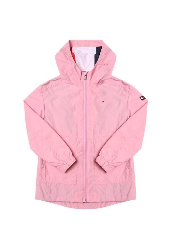 Różowa kurtka przejściowa TOMMY HILFIGER