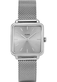 Srebrny zegarek Cluse