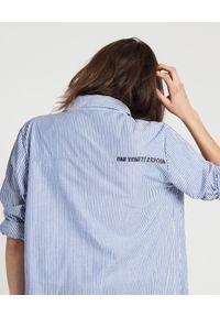 ONETEASPOON - Długa koszula w paski. Kolor: biały. Materiał: materiał. Długość: długie. Wzór: paski