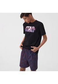 Sinsay - Piżama dwuczęściowa Star Wars - Czarny. Kolor: czarny. Wzór: motyw z bajki