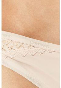 Różowe majtki Calvin Klein Underwear