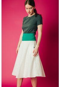 Spódnica Hultaj Polski w kolorowe wzory, sportowa, na spacer