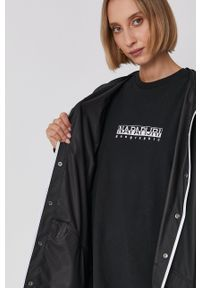 Rains - Kurtka przeciwdeszczowa 1201 Jacket. Typ kołnierza: kaptur. Kolor: czarny