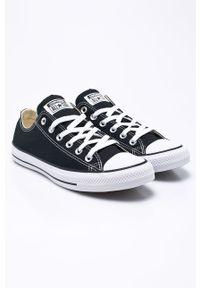 Converse - Tenisówki. Nosek buta: okrągły. Zapięcie: sznurówki. Kolor: czarny