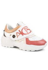 Białe buty sportowe Aigner