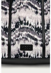 Wielokolorowa shopperka Nobo skórzana, duża, na ramię