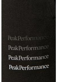 Czarne spodnie dresowe Peak Performance z nadrukiem #3