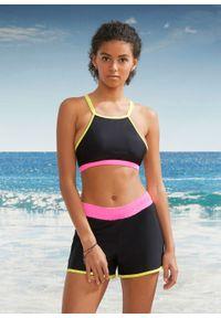 Bikini (3 części) bonprix czarny. Kolor: czarny