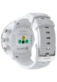 Zegarek sportowy SUUNTO 9 Baro Biały. Kolor: biały. Styl: sportowy
