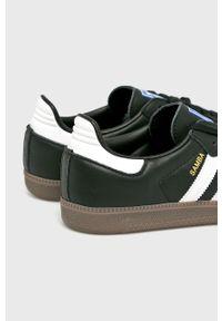 Czarne sneakersy adidas Originals z cholewką, na sznurówki