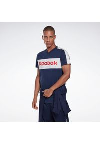 Koszulka do fitnessu Reebok krótka, z krótkim rękawem