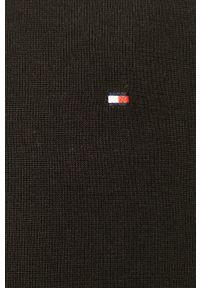 TOMMY HILFIGER - Tommy Hilfiger - Sweter. Okazja: na co dzień. Kolor: czarny. Materiał: dzianina. Długość rękawa: długi rękaw. Długość: długie. Styl: casual