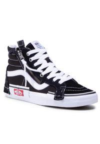 Czarne buty sportowe Vans