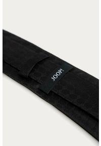 Czarny krawat JOOP! gładki