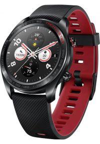 Czarny zegarek HONOR smartwatch