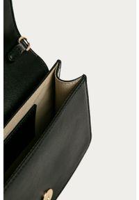 Czarna kopertówka Trussardi Jeans na ramię, mała