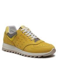 Primigi Sneakersy 7383144 D Żółty. Kolor: żółty