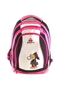 NICI Plecak szkolny 2w1 , owca z bańką. Wzór: kropki