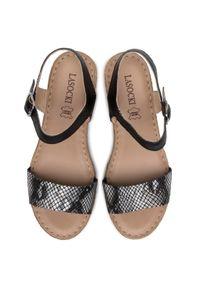 Czarne sandały Lasocki