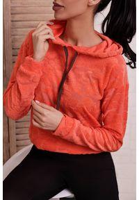 Pomarańczowa bluza IVET na co dzień, casualowa