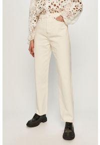 Białe jeansy The Kooples na co dzień, casualowe