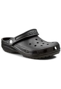 Crocs Klapki Classic 10001 Czarny. Kolor: czarny