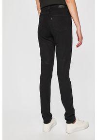 Levi's® - Levi's - Jeansy 721. Okazja: na spotkanie biznesowe. Kolor: czarny. Materiał: jeans. Wzór: gładki. Styl: biznesowy #3
