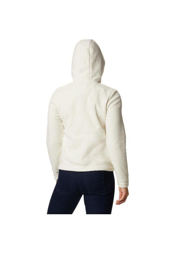 Biała bluza sportowa columbia