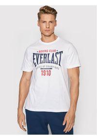 EVERLAST - Everlast T-Shirt 2012793-01 Biały Regular Fit. Kolor: biały