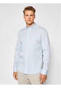 Marc O'Polo Koszula B21 7668 42156 Niebieski Regular Fit. Typ kołnierza: polo. Kolor: niebieski