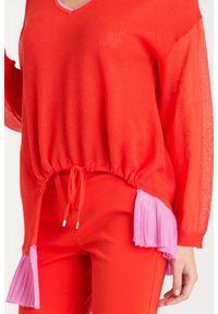 Sweter Pinko z długim rękawem, krótki