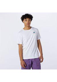 T-shirt New Balance z krótkim rękawem, casualowy, na co dzień
