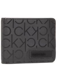 Calvin Klein Duży Portfel Męski Bifold 6cc W/Bill K50K506763 Czarny. Kolor: czarny