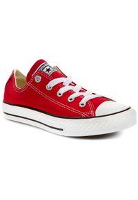 Czerwone półbuty Converse