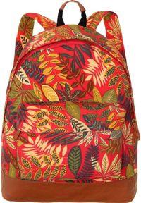 Adleys Piękny plecak szkolny miejski unisex CB162 LEAF