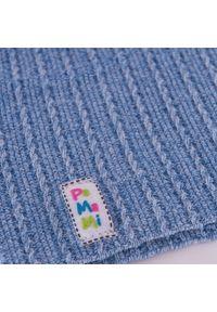 Czapka smerfetka dla dzieci PaMaMi - Jasnoniebieski. Kolor: niebieski. Materiał: bawełna, elastan