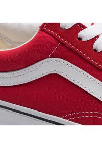 Vans Tenisówki Old Skool VN0A4BV5JV61 Czerwony. Kolor: czerwony. Model: Vans Old Skool