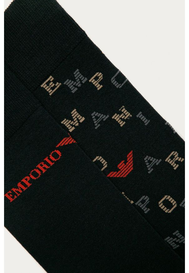 Niebieskie skarpetki Emporio Armani
