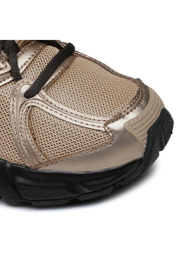 Złote buty sportowe Reebok z cholewką, na co dzień