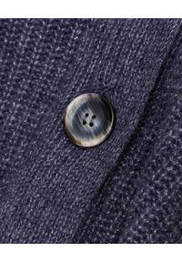 HEMISPHERE - Szary kardigan z jedwabiu i kaszmiru. Kolor: szary. Materiał: jedwab, kaszmir. Długość: długie. Sezon: jesień, zima