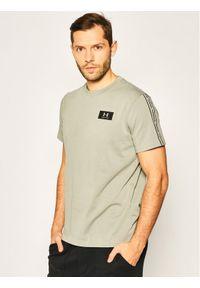 Under Armour T-Shirt Performance Shoulder 1351630 Szary Regular Fit. Kolor: szary