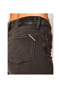 Czarne jeansy slim TOMMY HILFIGER