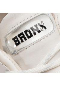 Białe półbuty Bronx casualowe, na co dzień #7