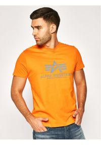 Pomarańczowy t-shirt Alpha Industries