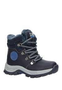 Niebieskie buty zimowe Casu