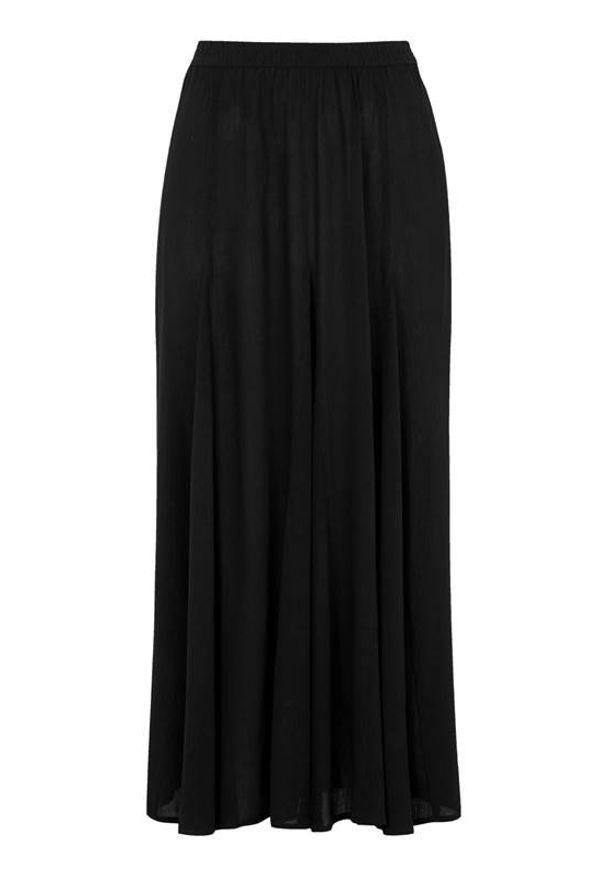 Cellbes Długa spódnica Czarny female czarny 42/44. Kolor: czarny. Długość: długie