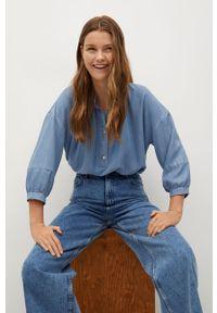 Niebieskie jeansy mango casualowe, na co dzień