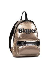 Złoty plecak Blauer